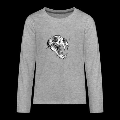 Teschio Tigre - Maglietta Premium a manica lunga per teenager