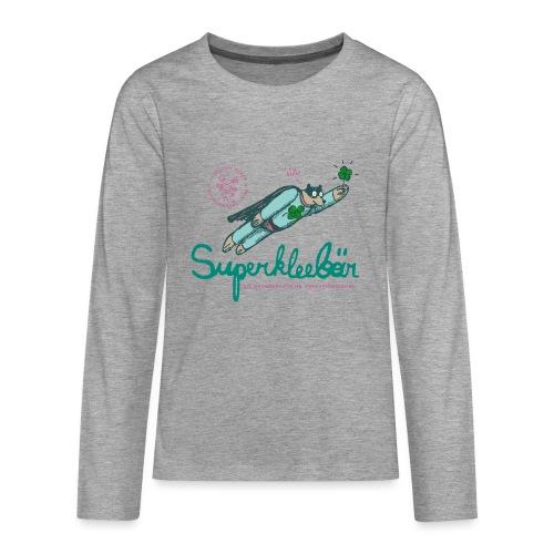 Der Superkleebär - Teenager Premium Langarmshirt