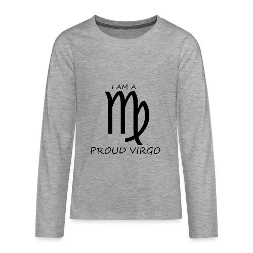 VIRGO - Teenagers' Premium Longsleeve Shirt
