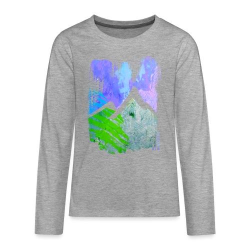 BergMorgen - Teenager Premium Langarmshirt
