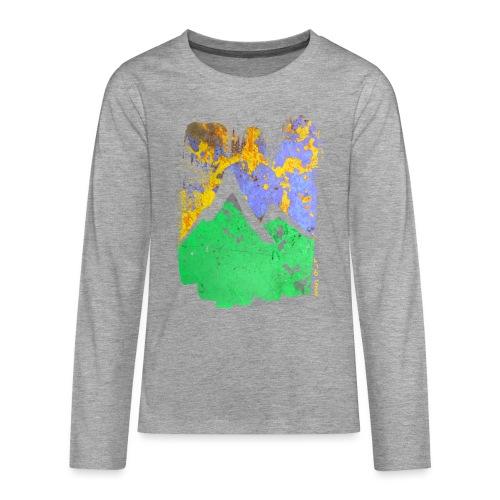 BergAbend - Teenager Premium Langarmshirt