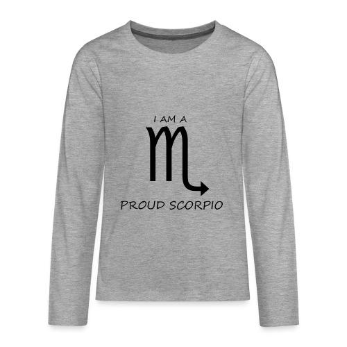 SCORPIO - Teenagers' Premium Longsleeve Shirt