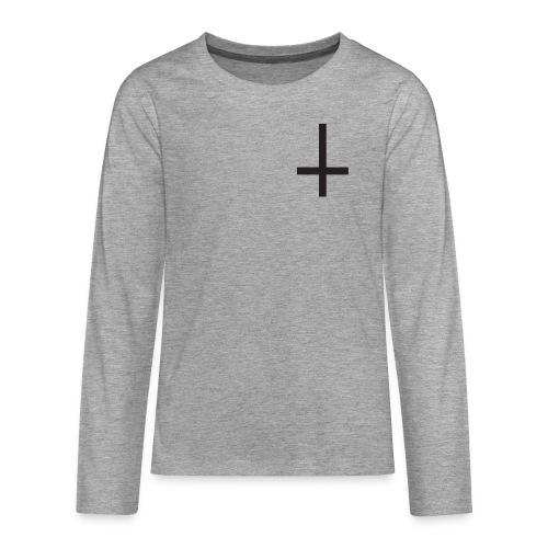 Cruz - Camiseta de manga larga premium adolescente