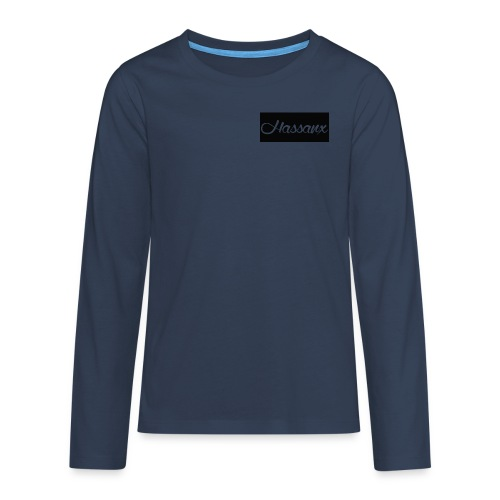 Hassanx Logo - Teenagers' Premium Longsleeve Shirt