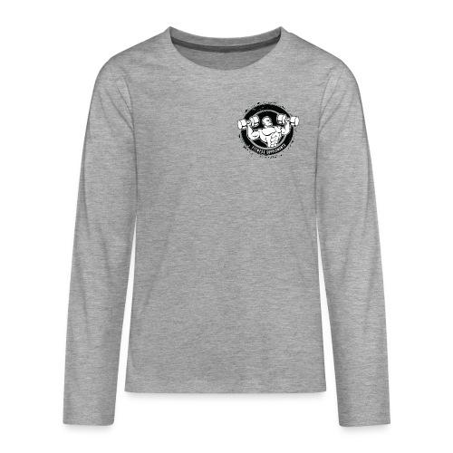 Fitness supplements - Teenager premium T-shirt med lange ærmer