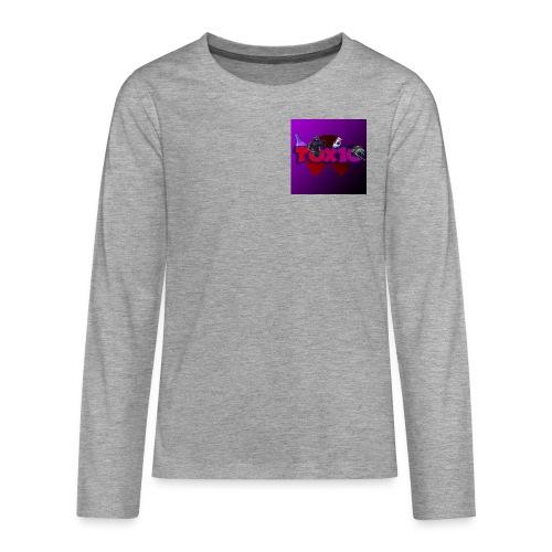 toxic paita - Teinien premium pitkähihainen t-paita