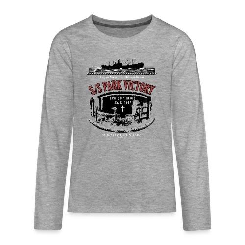 PARK VICTORY LAIVA - Tekstiilit ja lahjatuotteet - Teinien premium pitkähihainen t-paita
