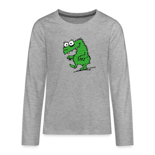 Happy Dyno - Teenager Premium Langarmshirt
