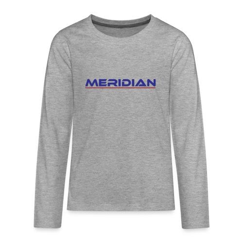Meridian - Maglietta Premium a manica lunga per teenager