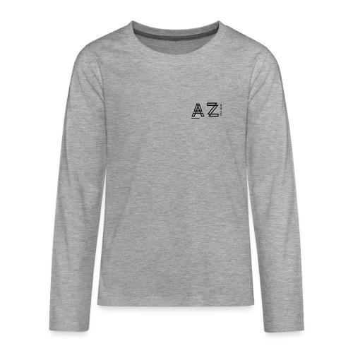 AZ Clothing - Teenagers' Premium Longsleeve Shirt