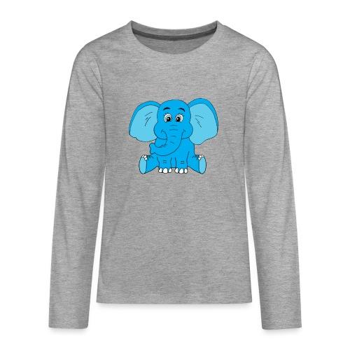 Baby Elefant - Teenager Premium Langarmshirt