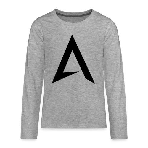 alpharock A logo - Teenagers' Premium Longsleeve Shirt
