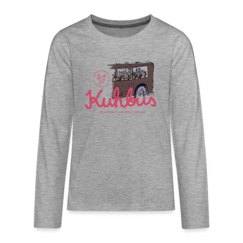 Der Kuhbus - Teenager Premium Langarmshirt
