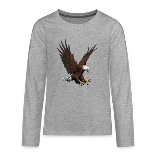 Adler sturzflug - Teenager Premium Langarmshirt