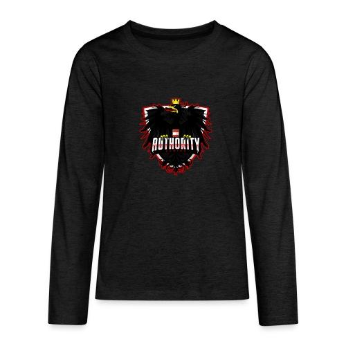 AUThority Gaming red - Teenager Premium Langarmshirt