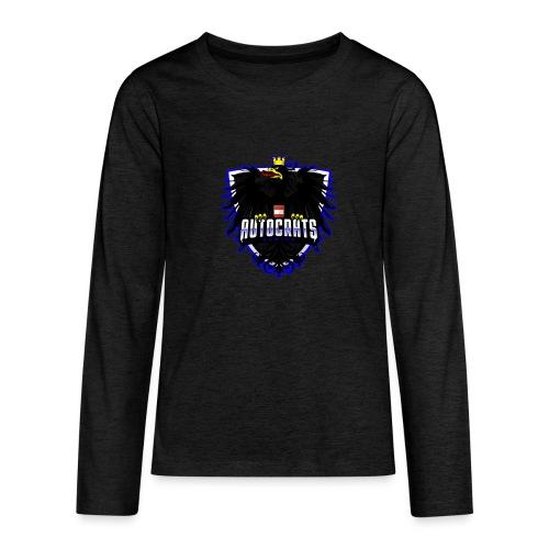 AUTocrats blue - Teenager Premium Langarmshirt