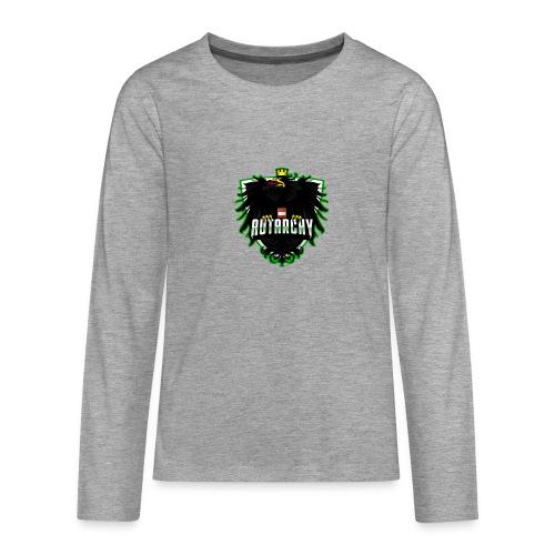 AUTarchy green - Teenager Premium Langarmshirt