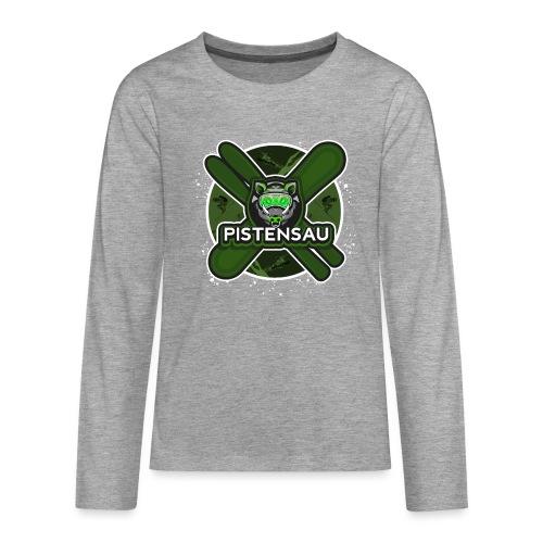 PistenSau NuClear - Teenager Premium Langarmshirt
