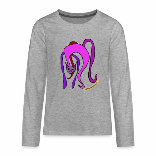 Meow! - Teenagers' Premium Longsleeve Shirt