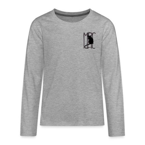 MRC Banksy rat black - Teenagers' Premium Longsleeve Shirt