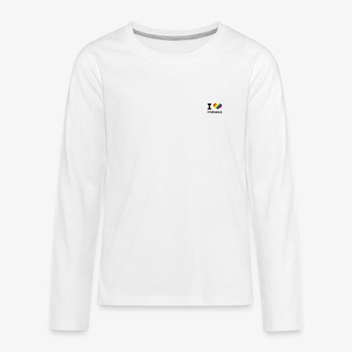 I love Schöneberg - Teenager Premium Langarmshirt