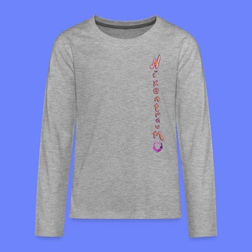 nixentraum8 - Teenager Premium Langarmshirt