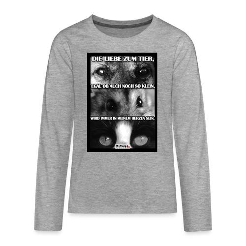 spruch jpg - Teenager Premium Langarmshirt