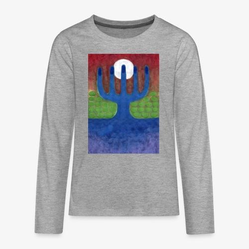 Oaza - Koszulka Premium z długim rękawem dla nastolatków