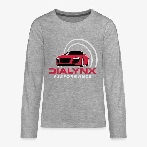 Dialynx Logo - Teenagers' Premium Longsleeve Shirt