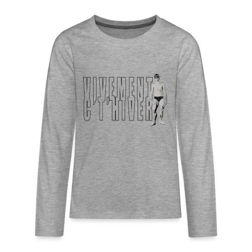 TELEMARK Vivement cet Hiver - T-shirt manches longues Premium Ado