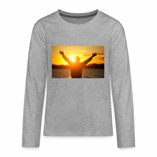 Camiseta Libre - Camiseta de manga larga premium adolescente
