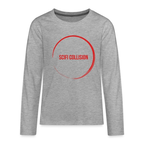 Red Logo - Teenagers' Premium Longsleeve Shirt