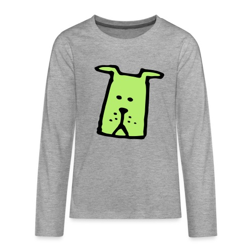 süßer Hund - Design - Geschenk für Kinder - Comic - Teenager Premium Langarmshirt