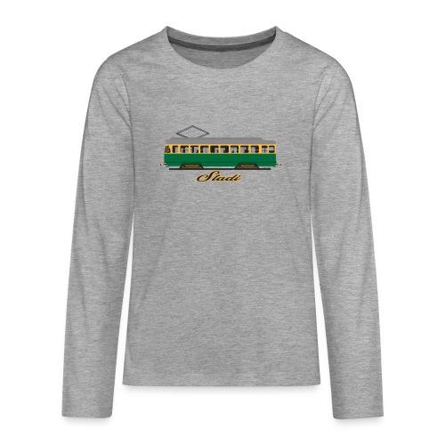 HELSINKI STADI SPORA TEKSTIILIT JA LAHJAT - Teinien premium pitkähihainen t-paita