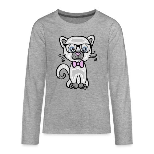 Katze Kätzchen - Teenager Premium Langarmshirt