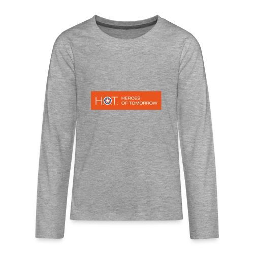 H.O.T. Logo - Teenager Premium Langarmshirt