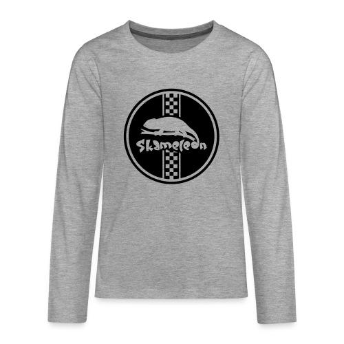 skameleon Logo - Teenager Premium Langarmshirt