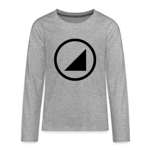 bulgebull marca oscura - Camiseta de manga larga premium adolescente