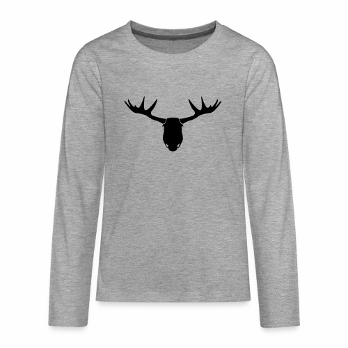 ElandHoofd - Teenager Premium shirt met lange mouwen