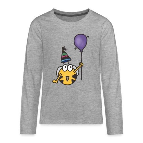 Feierbiene - Teenager Premium Langarmshirt