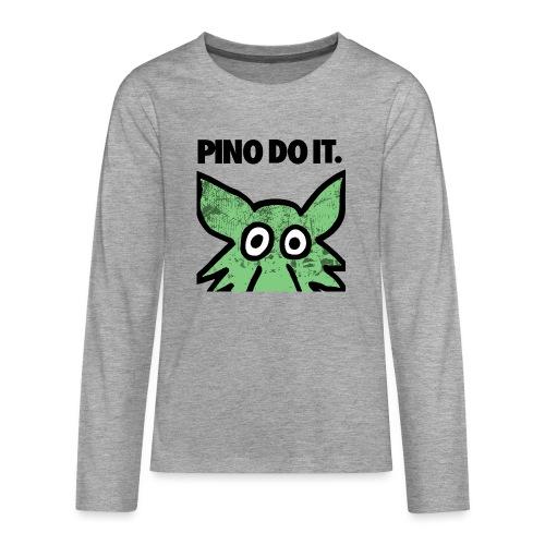 PINO DO IT - Maglietta Premium a manica lunga per teenager