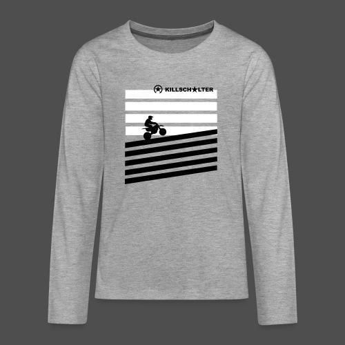 DIRT BIKE RIDER 0DR01 - Teenager Premium Langarmshirt