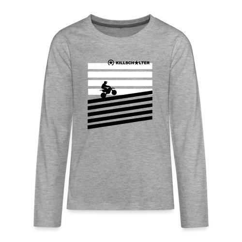 DIRT BIKE RIDER 0DR01 - Teenagers' Premium Longsleeve Shirt
