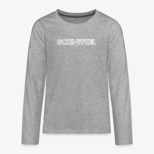 SCHNITZEL #04 - Teenager Premium Langarmshirt