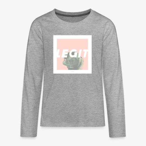 LEGIT #03 - Teenager Premium Langarmshirt