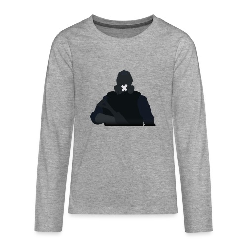 Mute - Koszulka Premium z długim rękawem dla nastolatków