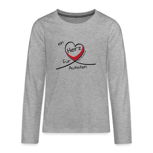 Ein Herz für Autisten - Teenager Premium Langarmshirt