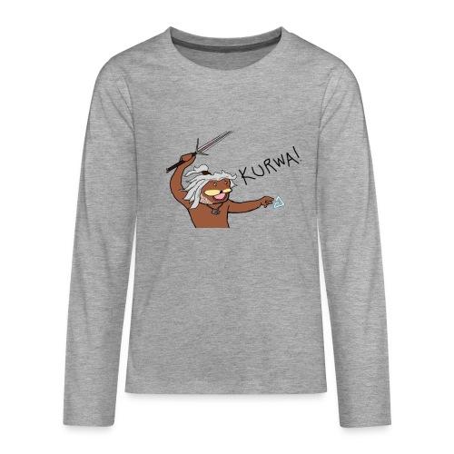 Noiduri - Teinien premium pitkähihainen t-paita