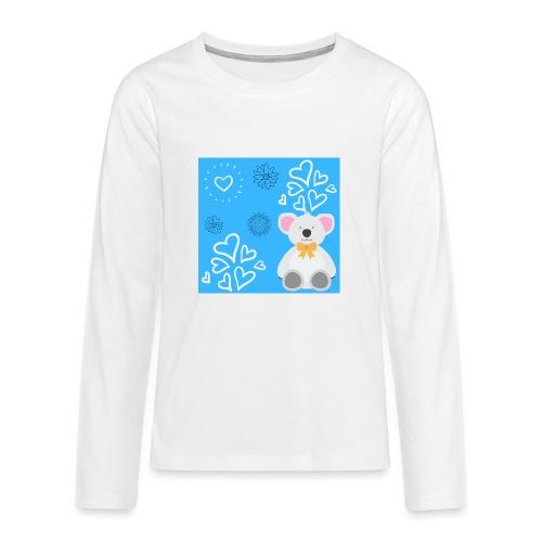 I LOVE ORSETTI - Maglietta Premium a manica lunga per teenager