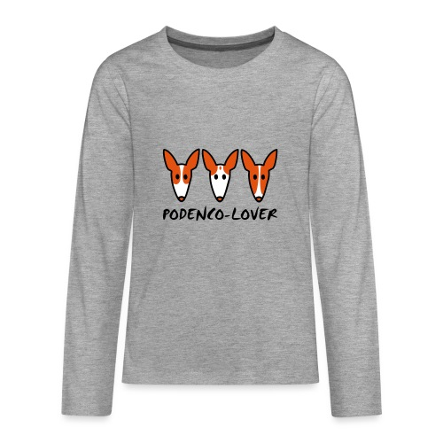 Podenco-Lover - Teenager Premium Langarmshirt